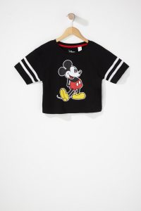 girls mickey mouse graphic t-shirt