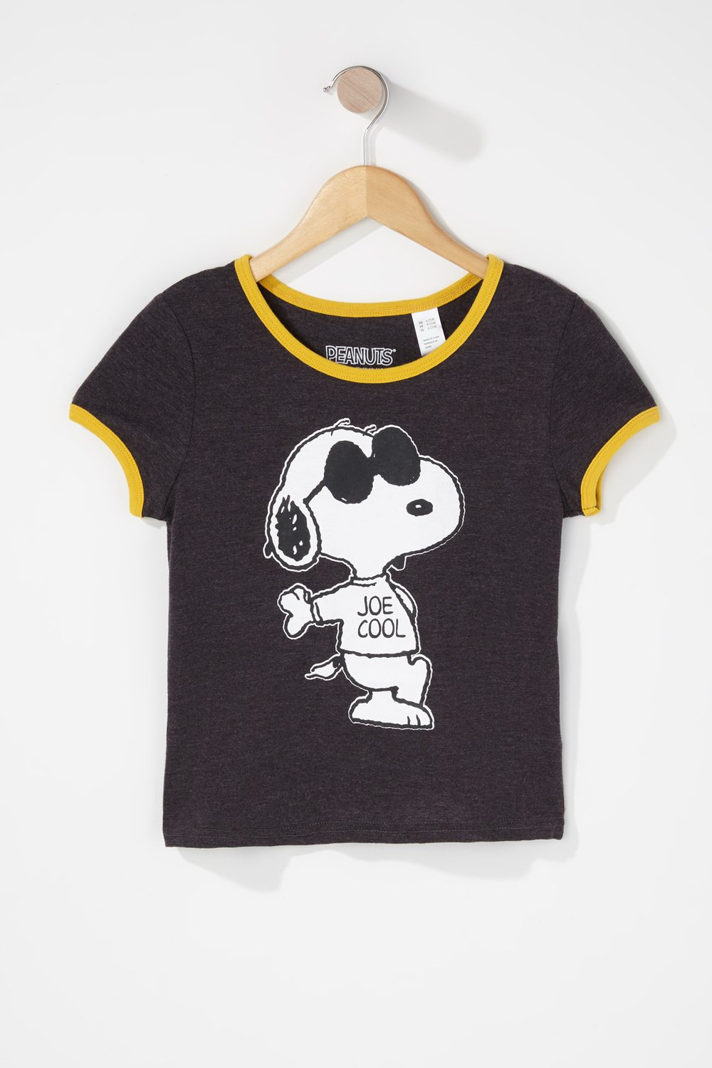 girls snoopy graphic t-shirt