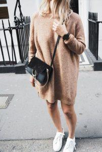 women sweater dress