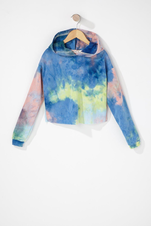 girls tie dye hoodie