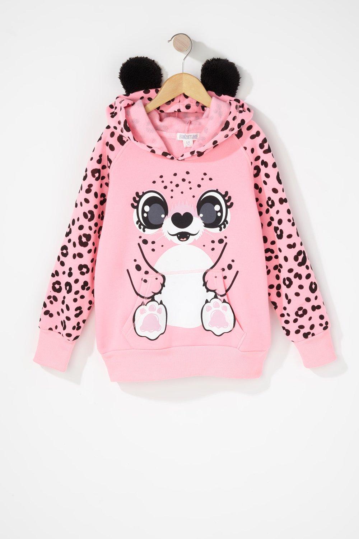 girls character hoodie