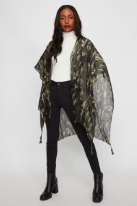 women kimono scarf
