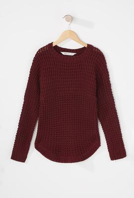 girls knit sweater