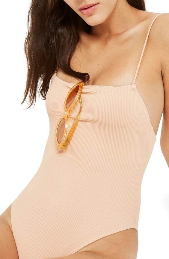 ribbed swimsuit