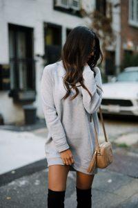 women sweatshirt dress