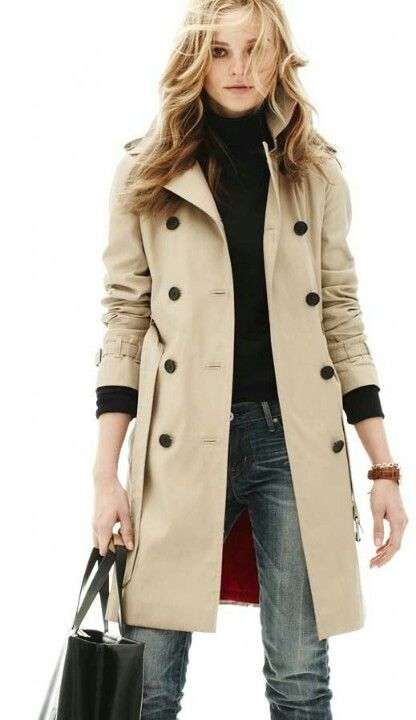 women trench wool coat