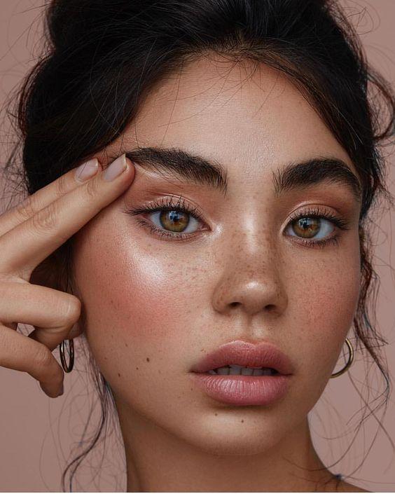 rosy blush makeup