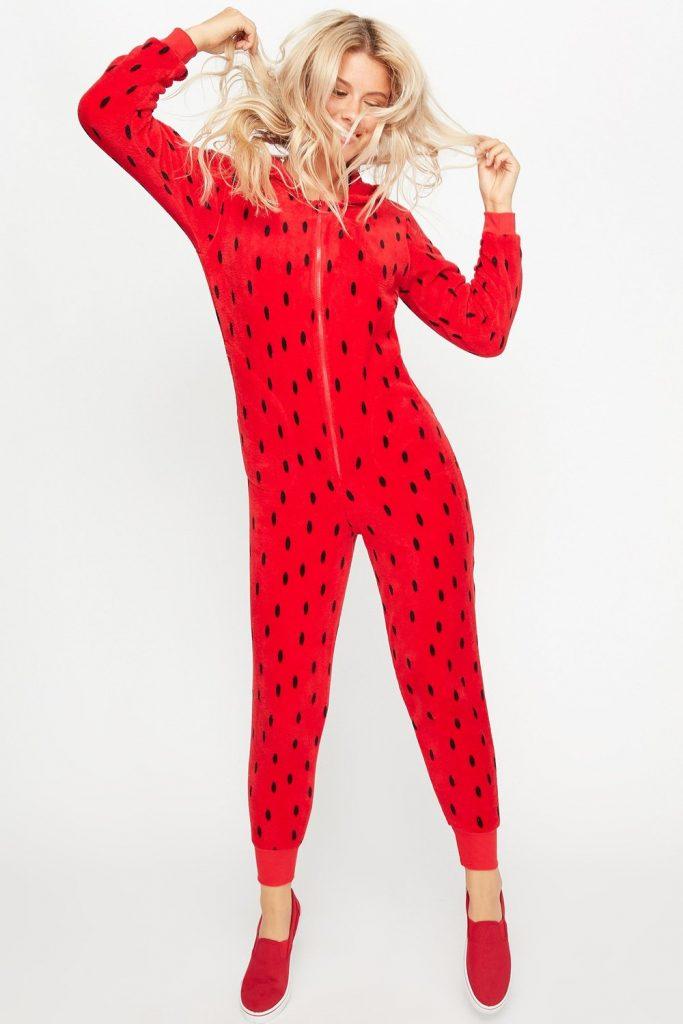 fruity strawberry onesie