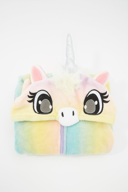 girls tie-dye unicorn onesie