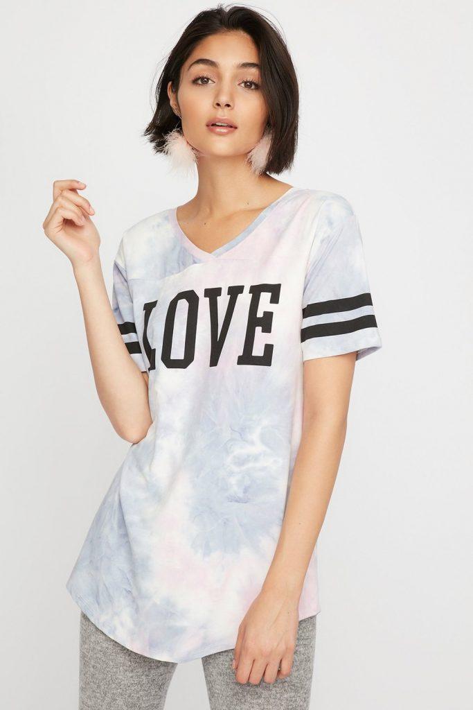 graphic pajama t-shirt