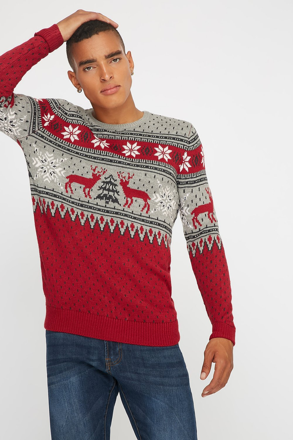 knit mens sweater