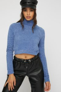 knit turtleneck sweater