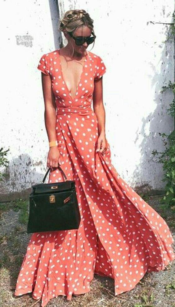 maxi flowy dress
