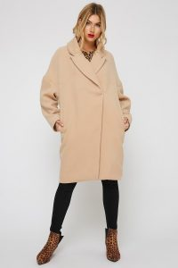 oversized longline coat