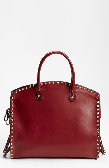 red pear bag