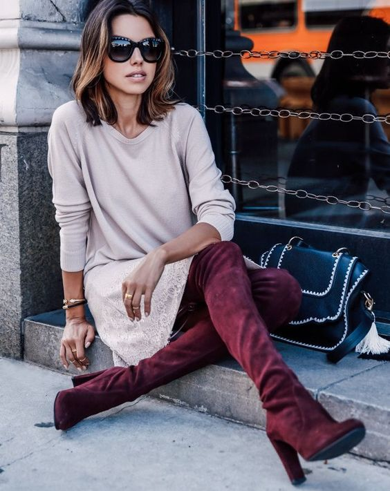 red pear boots