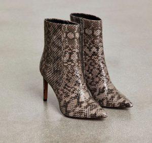 BCBG snakeskin boots