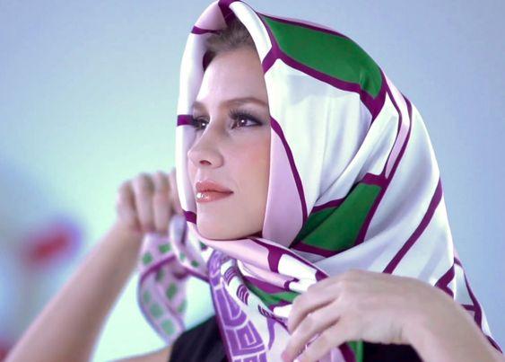 under chin scarf