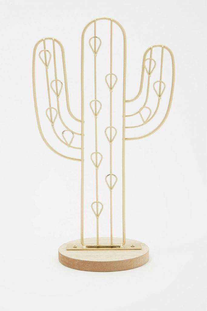 cactus jewlery stand
