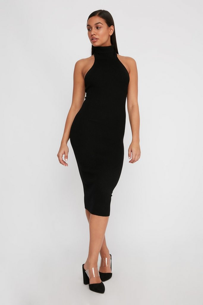 turtleneck bodycon