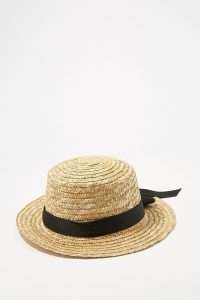 UP straw boater hat