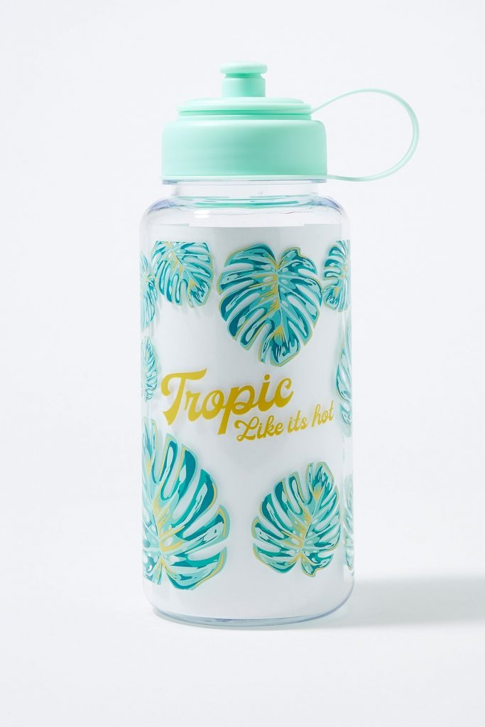 graphic water bottle
