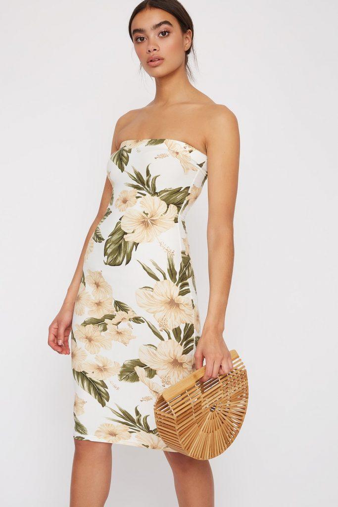 tube midi dress