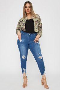 cropped skinny jean