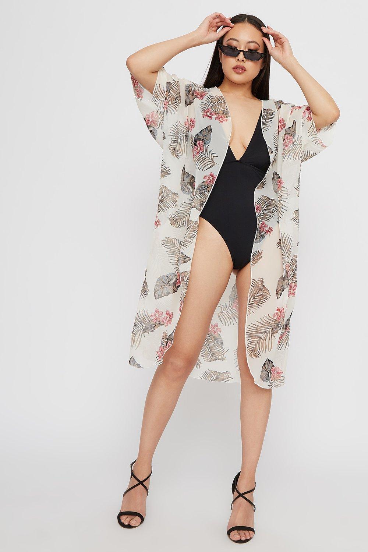chiffon kimono