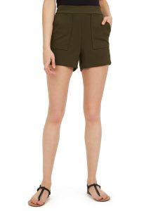 crepe shorts