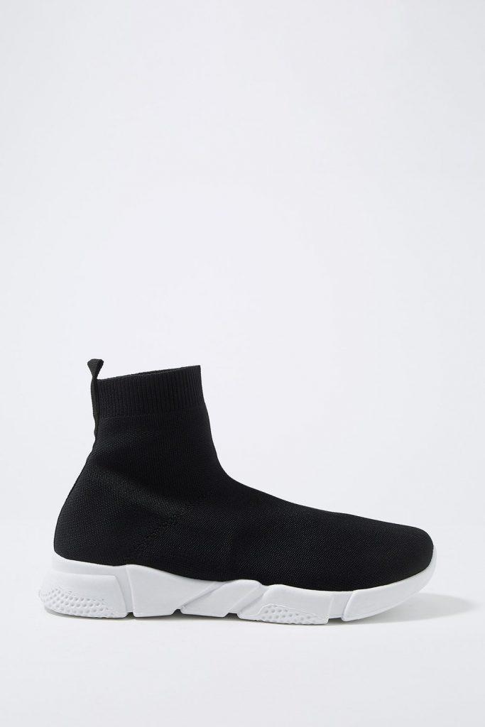 knit sock sneaker