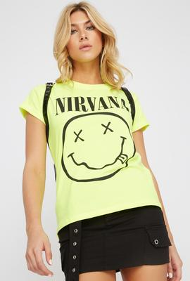 nirvana tee shirt