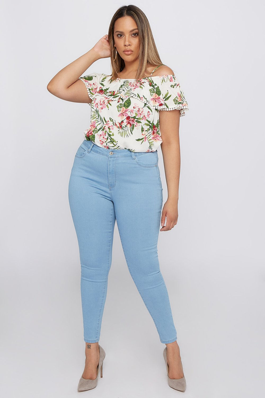 plus size skinny jean