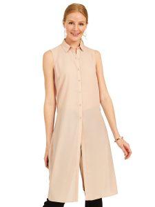 chiffon tunic blouse