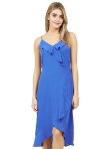 high low ruffle dress