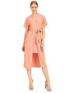 kimono wrap dress