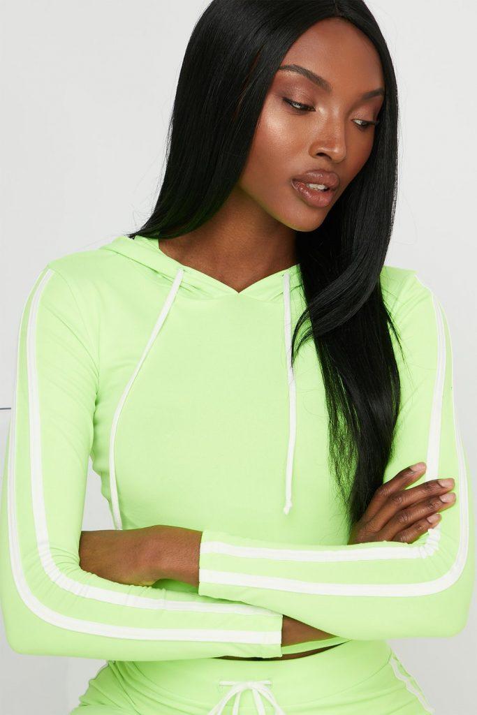neon hoodie
