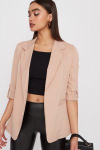 open-front blazer