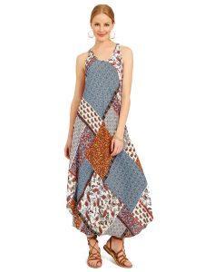 patchwork dress suzy