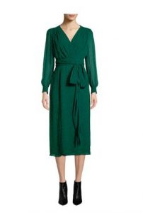 wrap dress neiman