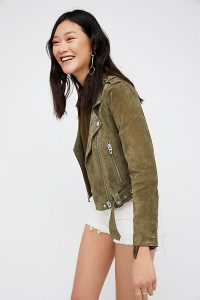 Free People suede jacket $198