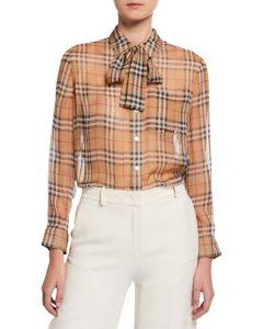 Neiman Marcus chiffon blouse $970