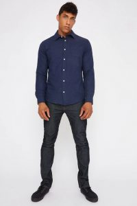 Oxford button-up