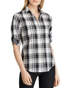 Ralph Lauren 89.95 plaid shirt