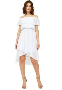 SZ off the shoulder midi dress $20.59