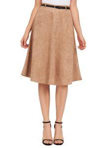 SZ suede a-line skirt 23.40