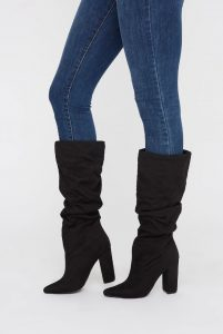UP ruched boots 35.99