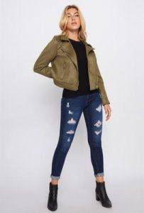 UP suede jacket $59.99