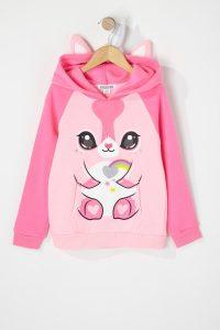 caticorn popover hoodie
