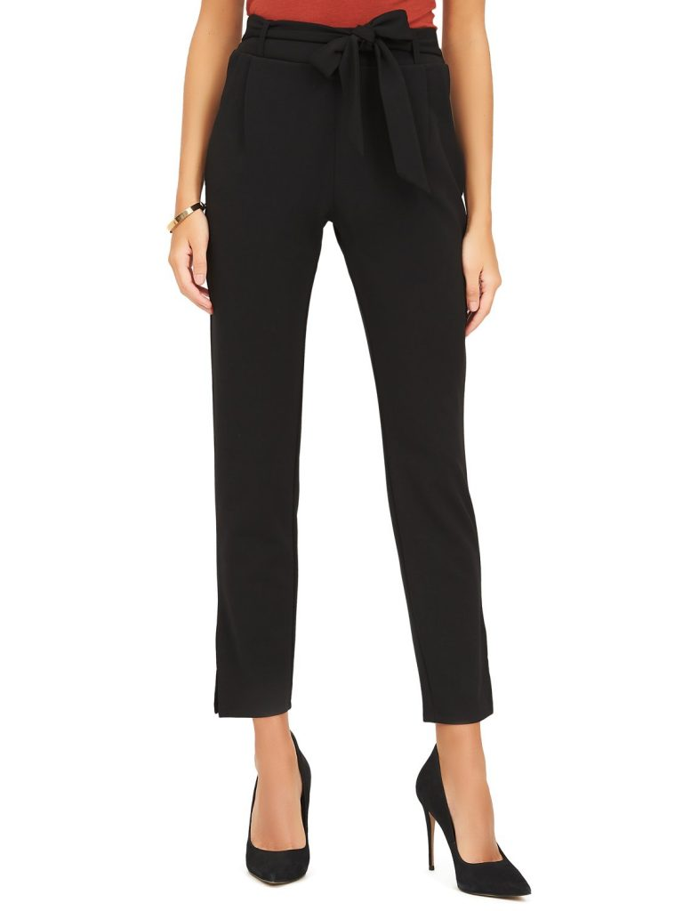 crepe ankle pant